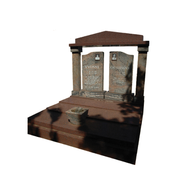 double-tombstone